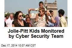 Jolie-Pitt Kids Monitored by Cyber Security Team
