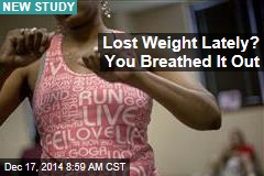 Where Our Lost Fat Goes: 'Into Thin Air'