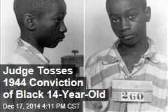 Judge Tosses 1944 Conviction of Black 14-Year-Old