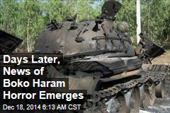 Boko Haram Kills 32, Grabs 185 Women, Kids