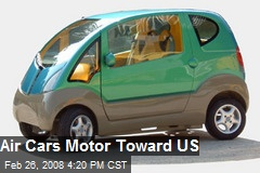 Air Cars Motor Toward US