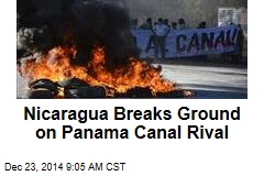 Nicaragua Breaks Ground on Panama Canal Rival
