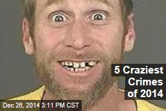 5 Craziest Crimes of 2014