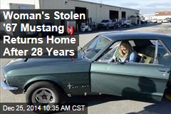 Woman's Stolen '67 Mustang Returns Home After 28 Years