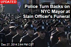 Thousands Attend Slain NY Police Officer's Funeral