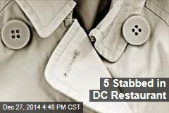 5 Stabbed in DC Restaurant