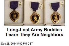 Long-Lost Army Buddies: Neighbors for 18 Years