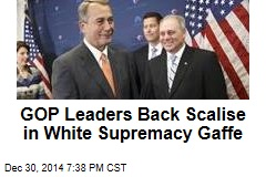 GOP Leaders Back Scalise in White Supremacy Gaffe
