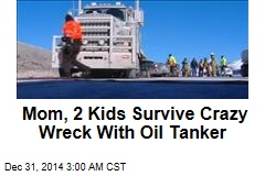 Family Survives Being Pinned Under Tanker Truck