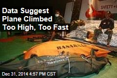 Data Suggest Plane Climbed Too High, Too Fast