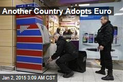 Another County Adopts Euro