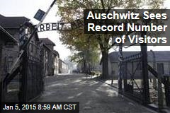 Auschwitz Sees Record Number of Visitors