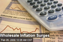 Wholesale Inflation Surges