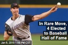 In Rare Move, 4 Elected to Baseball Hall of Fame