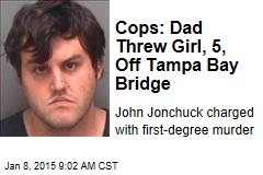 Cops: Dad Threw Girl, 5, From Tampa Bridge