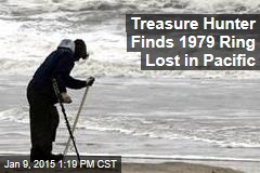 Treasure Hunter Finds 1979 Ring Lost in Pacific
