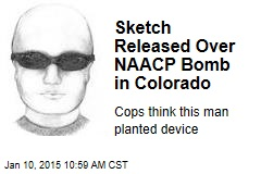 Sketch Released in NAACP Bomb in Colorado