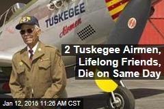 2 Tuskegee Airmen, Lifelong Friends, Die on Same Day
