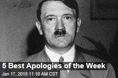 5 Best Apologies of the Week