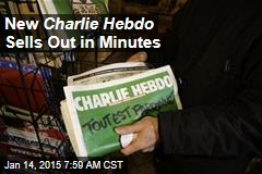 New Charlie Hebdo Sells Out in Minutes