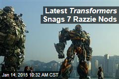 Latest Transformers Snags 7 Razzie Nods