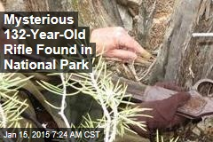 Mysterious 132-Year-Old Rifle Found in National Park