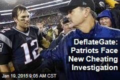 DeflateGate: Patriots Face New Cheating Investigation