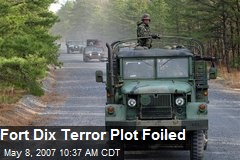 Fort Dix Terror Plot Foiled