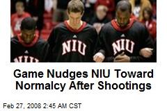 Game Nudges NIU Toward Normalcy After Shootings
