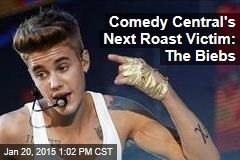 Comedy Central's Next Roast Victim: The Biebs