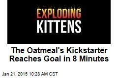The Oatmeal's Kickstarter Reaches Goal in 8 Minutes