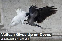 Vatican Gives Up on Doves, Turns to Balloons