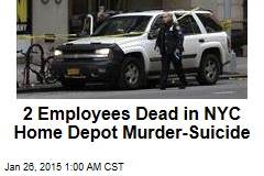 2 Dead in NYC Home Depot Murder-Suicide