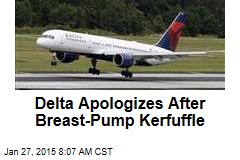 Delta Apologizes After Breast-Pump Kerfuffle