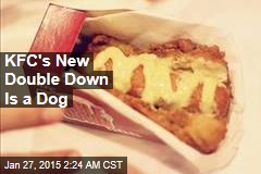 KFC Launches Double Down Dog