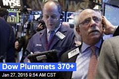 Dow Plummets 370+
