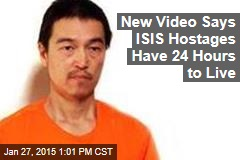 New Video Says ISIS Hostages Have 24 Hours to Live