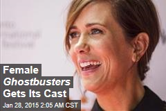 Female 'Ghostbusters' Gets Its Cast