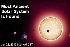 Most Ancient Solar System Is Found