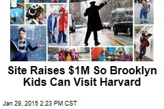 Site Raises $1M So Brooklyn Kids Can Visit Harvard