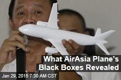 What AirAsia Plane's Black Boxes Revealed
