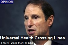 Universal Health Crossing Lines