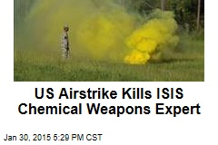 US Airstrike Kills ISIS Chemical Weapons Expert
