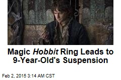 Boy Suspended for 'Terroristic' Hobbit Threat