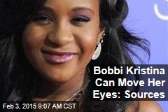 Bobbi Kristina Can Move Her Eyes: Sources