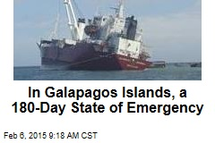 In Galapagos Islands, a 180-Day State of Emergency