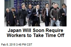 Japan Will Soon Require Workers to Take Time Off