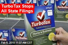 TurboTax Stops All State Filings