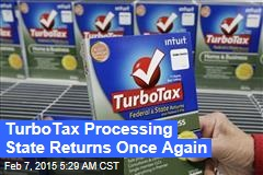 TurboTax Processing State Returns Once Again