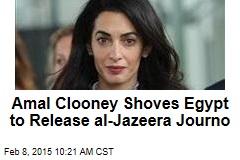 Amal Clooney Shoves Egypt to Release al-Jazeera Journo